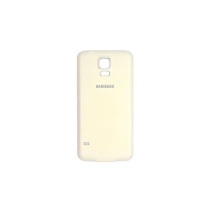 Coque Arrière BLANCHE pour Samsung Galaxy S5 photo 2