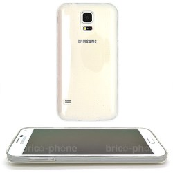 Coque souple transparente pour Samsung Galaxy S5 photo 2