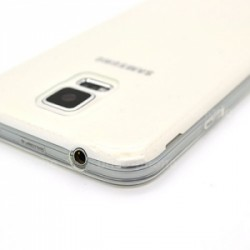 Coque souple transparente pour Samsung Galaxy S5 photo 3