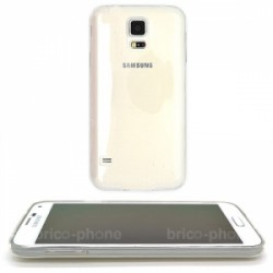 Coque souple transparente pour Samsung Galaxy S5 photo 1