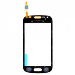 Vitre tactile Noire pour Samsung Galaxy Trend photo 3