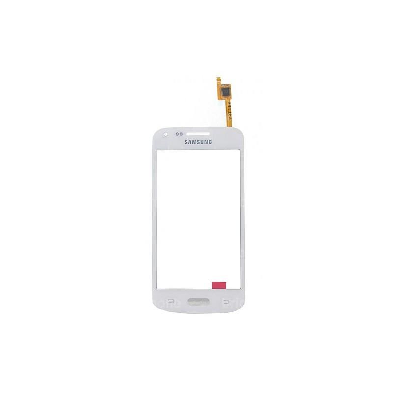 Vitre tactile Blanche pour Samsung Galaxy Core Plus photo 2