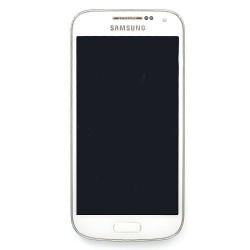 Ecran BLANC prémonté sur châssis pour Samsung Galaxy S4 Mini / S4 Mini Duos photo 2