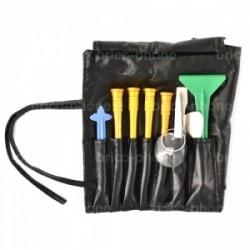 Pochette effet cuir 10 outils professionnels photo 1