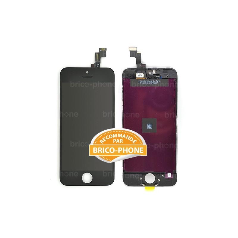 Ecran NOIR iPhone 5S et SE PREMIUM photo 2