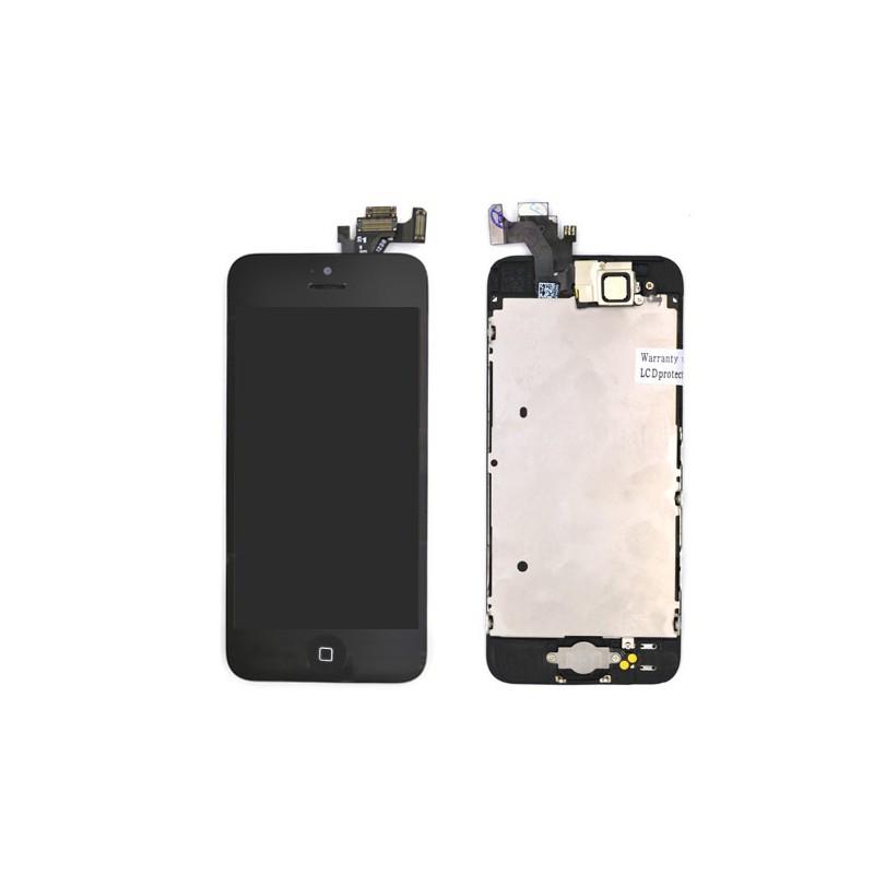 Ecran NOIR iPhone 5C PREMIUM pré-assemblé photo 2