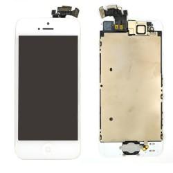 Ecran BLANC iPhone 5 PREMIUM pré-assemblé photo 1