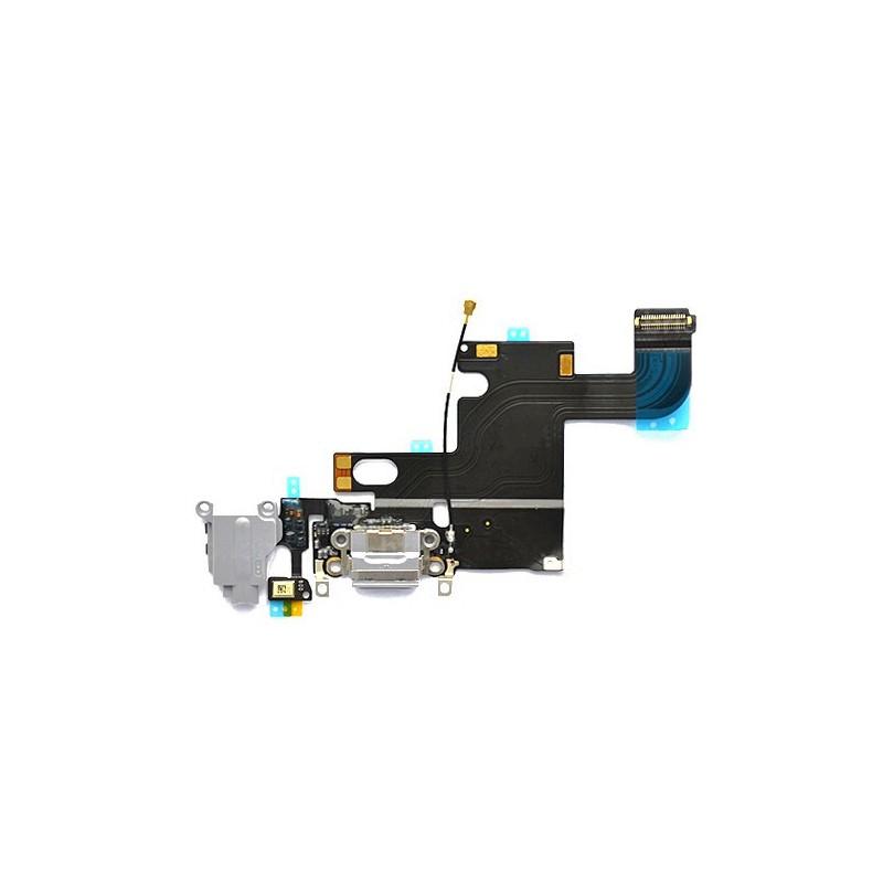 Connecteur de charge Gris avec jack et micro iPhone 6 photo 2