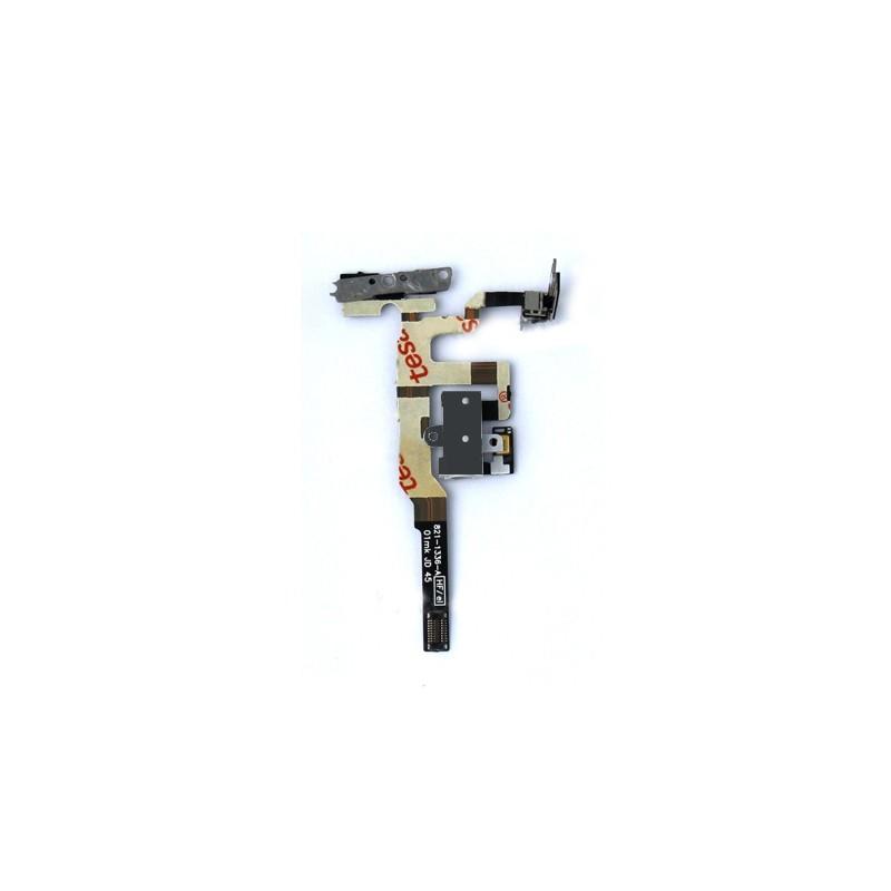 Nappe complète prise Jack + mute et volume pour iPhone 4S Noir photo 2