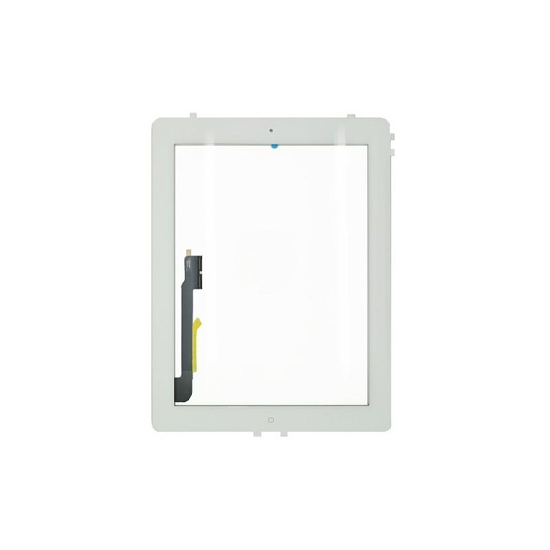 Vitre tactile blanche prémontée pour iPad 3 qualité standard photo 2