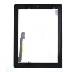 Vitre tactile noire prémontée pour iPad 3 qualité standard photo 2