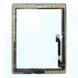 Vitre tactile noire prémontée pour iPad 3 qualité standard photo 3