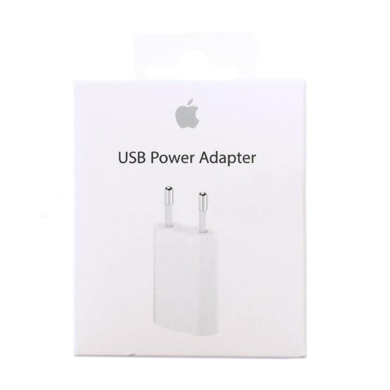 Chargeur secteur USB original APPLE pour iPhone photo 2