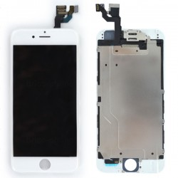 Ecran BLANC iPhone 6 PREMIUM pré-assemblé photo 2