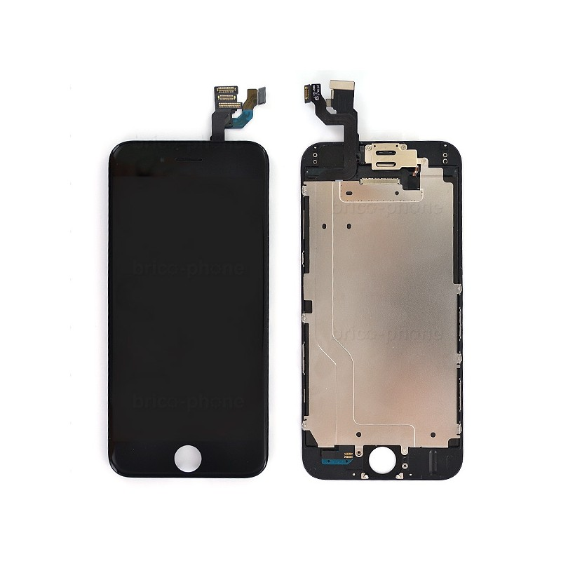 Ecran NOIR iPhone 6 PREMIUM pré-assemblé photo 2
