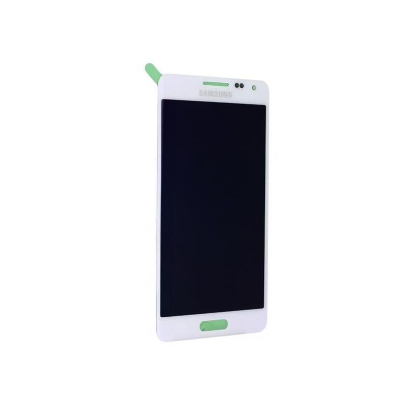 Ecran BLANC prémonté pour Samsung Galaxy Alpha photo 2