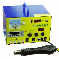 Station 3 en 1 : air chaud, à souder et ampèremètre photo 2
