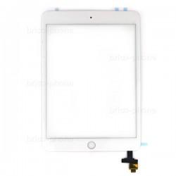 Vitre tactile BLANCHE pour iPad Mini 3 photo 2