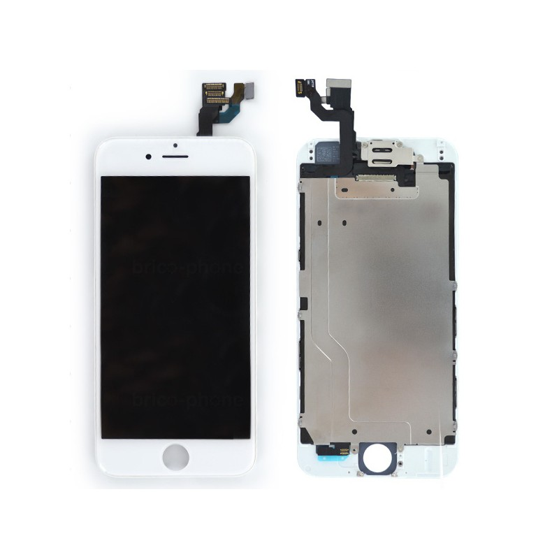 Ecran BLANC iPhone 6 RAPPORT QUALITE / PRIX pré-assemblé photo 2