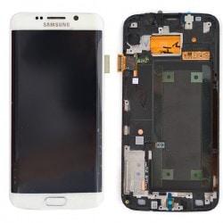 Ecran Amoled BLANC et vitre prémontés pour Samsung Galaxy S6 Edge photo 2