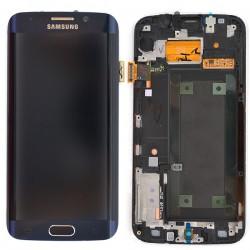 Ecran Amoled NOIR COSMOS et vitre prémontés pour Samsung Galaxy S6 Edge photo 2