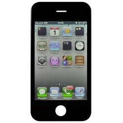 Ecran NOIR iPhone 4 compatible Premier prix photo 2