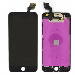 Ecran NOIR iPhone 6 PLUS RAPPORT QUALITE / PRIX pré-assemblé photo 2