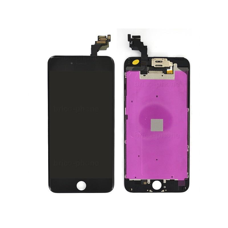 Ecran NOIR iPhone 6 PLUS RAPPORT QUALITE / PRIX pré-assemblé photo 2