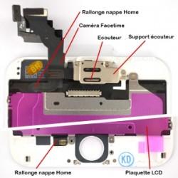 Ecran BLANC iPhone 6 PLUS RAPPORT QUALITE / PRIX pré-assemblé photo 5
