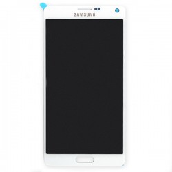 Ecran BLANC COMPLET pour Samsung Galaxy Note 4 photo 2