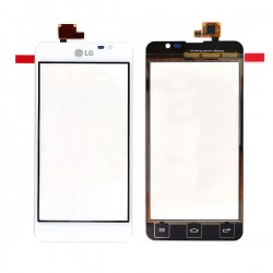 Vitre tactile BLANCHE pour LG Optimus F5 photo 2