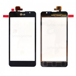 Vitre tactile NOIRE pour LG Optimus F5 photo 2