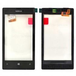 Vitre Noire Oorginale avec châssis pour Nokia Lumia 520 photo 2
