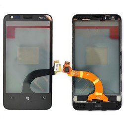 Vitre Noire pour NOKIA Lumia 620 photo 2