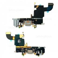Connecteur de charge, jack et micros GRIS pour iPhone 6S photo 2