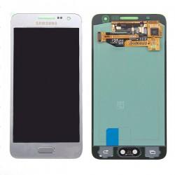 Bloc écran Argent Amoled avec vitre prémontée pour Samsung Galaxy A3 photo 2