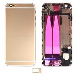 Coque arrière Gold pour iPhone 6 complète photo 2