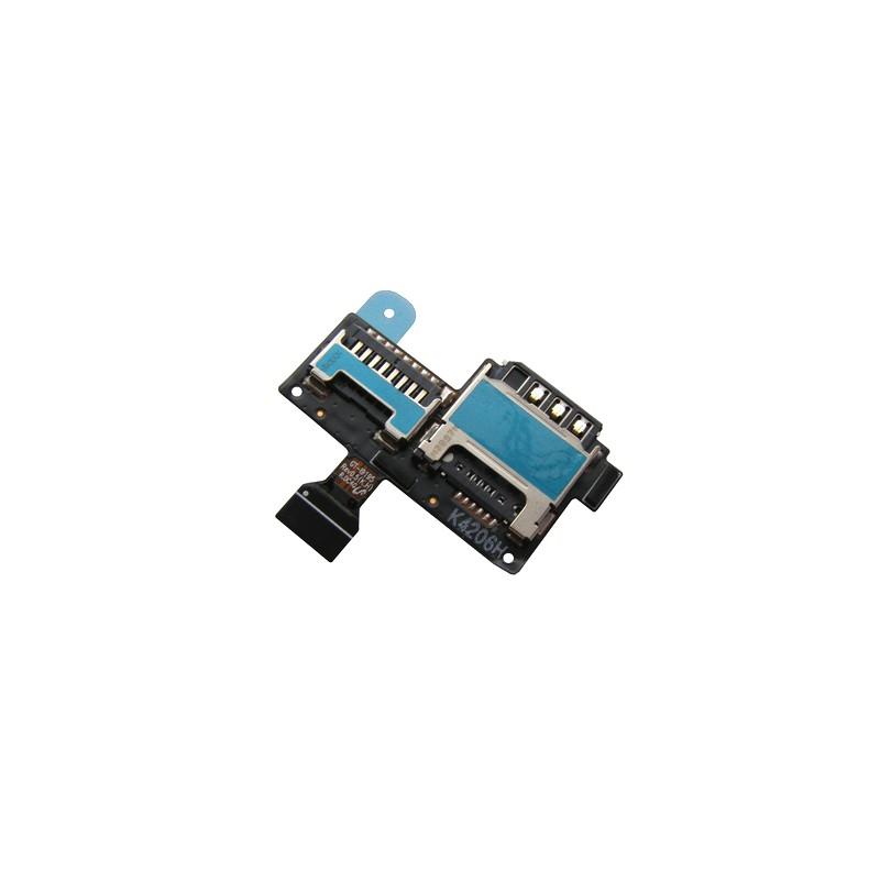 Lecteur de carte SIM et SD pour Samsung Galaxy S4 Mini / S4 Mini Duos photo 2