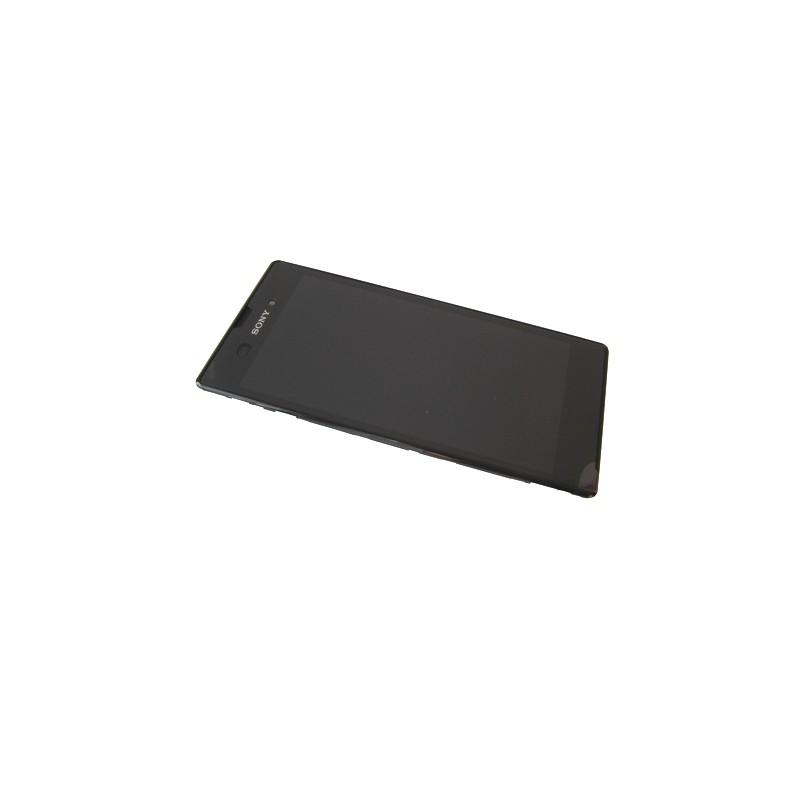 Bloc écran noir complet pour Sony Xperia T3 photo 2