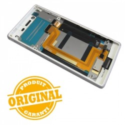 Bloc écran Blanc pour Sony Xperia M4 AQUA DUAL photo 3