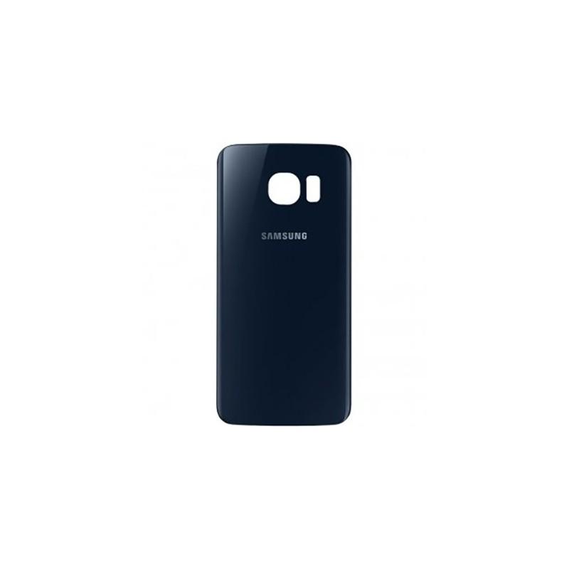 Vitre arrière Noire pour Samsung Galaxy S6 photo 2