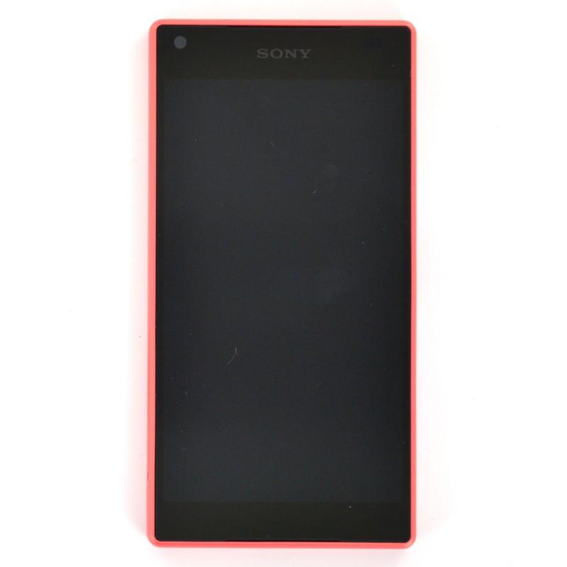 Bloc écran corail avec châssis pour Sony Xperia Z5 Compact photo 2