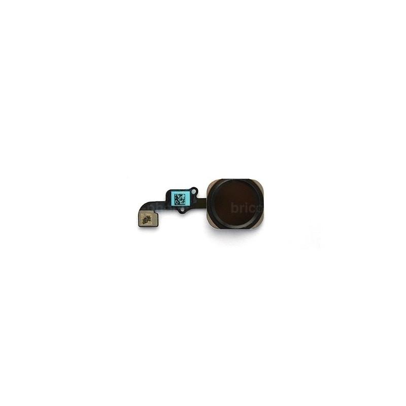 Nappe bouton Home noir pour iPhone 6S et 6S Plus photo 2
