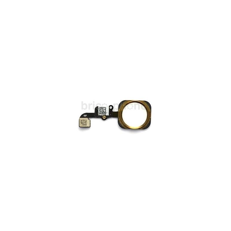 Nappe bouton Home Gold pour iPhone 6S et 6S Plus photo 2