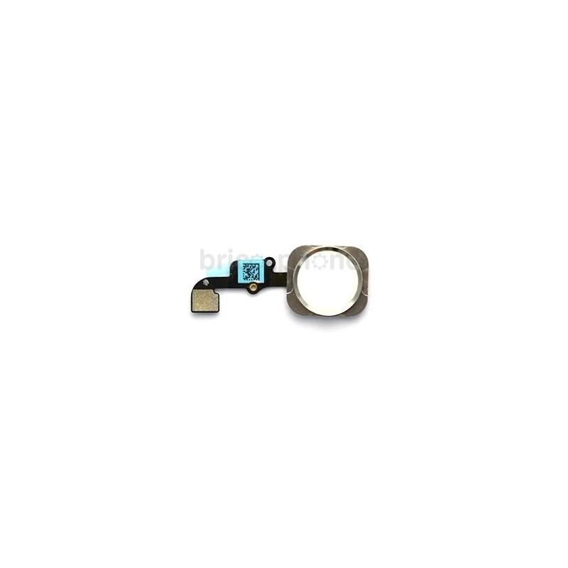 Nappe bouton Home Silver pour iPhone 6S et 6S Plus photo 2