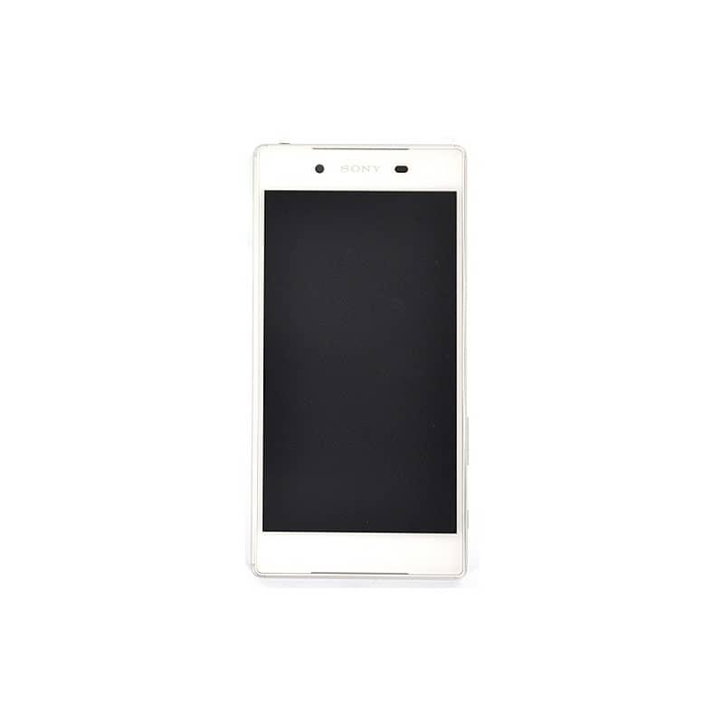 Bloc Ecran Blanc avec châssis pour Sony Xperia Z5 photo 2
