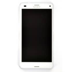 Bloc écran pour Sony Xperia Z3 Compact Blanc photo 2