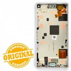 Bloc écran pour Sony Xperia Z3 Compact Blanc photo 3
