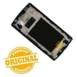 Bloc Ecran Noir prémonté sur châssis avec vitre et LCD pour LG G4 photo 3