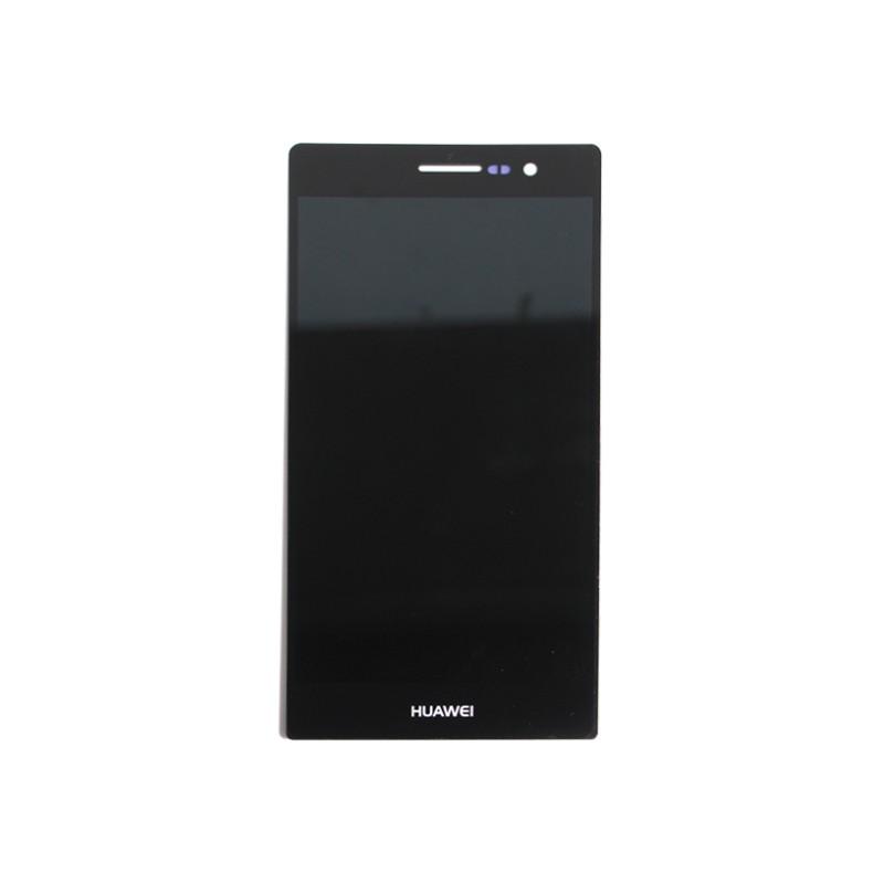 Ecran noir avec vitre et LCD pour Huawei P7 photo 2